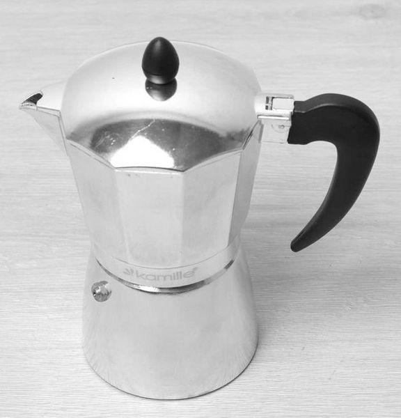 Kawiarka Kafeterka Espresso CLASSIC 150ml (2-3 CUPS) KAMILLE KM-2503 zdjęcie 2