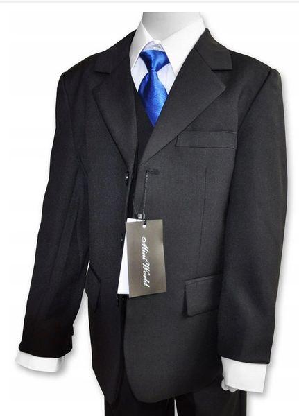 Koszula galowa z kamizelką +krawat 110/116 , 2 kolory zdjęcie 2