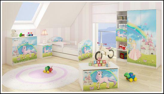 Meble dziecięce BABY BOO łóżko 160x80 5elementów WZORY !