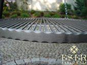 Ruszt do grilla wiszącego - stalowy - okrągły - 70 cm ES-ER zdjęcie 2