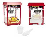 Maszyna do popcornu - czerwony daszek Royal Catering RCPR-16E