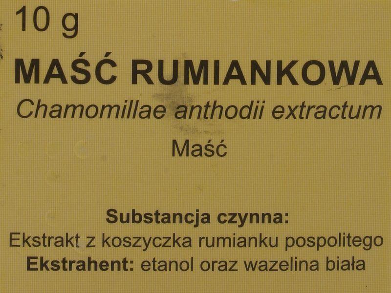 Maść rumiankowa - Elissa - 10 g zdjęcie 3