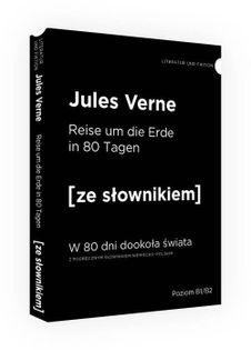 W 80 dni dookoła świata wersja niemiecka ze słownikiem Verne Jules