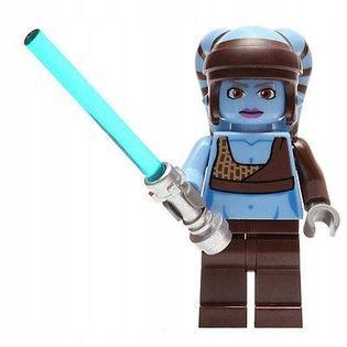 MEGA figurka Star Wars AAYLA SECURA +karta lego