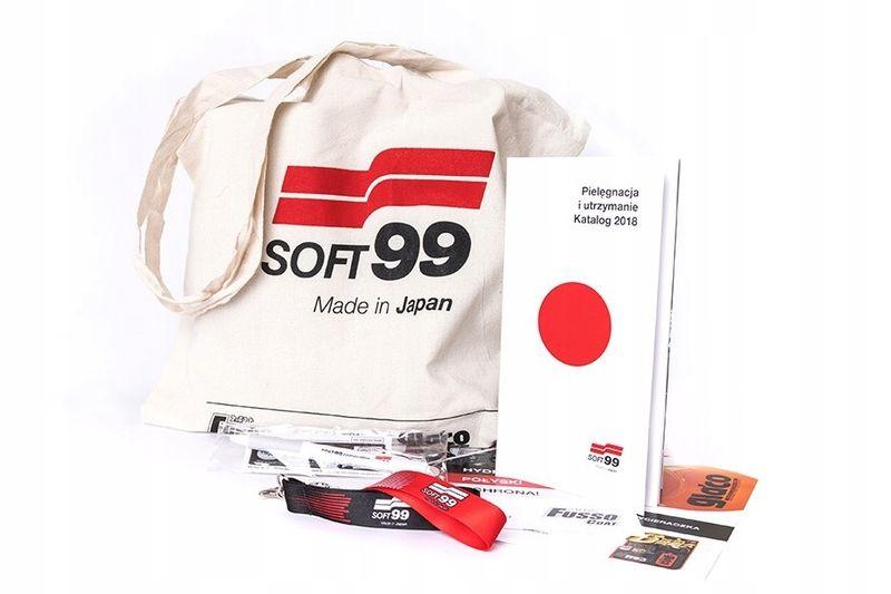 Soft99 kiwami zestaw wosk jasny i szampon na Arena.pl