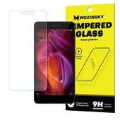 Wozinsky Tempered Glass szkło hartowane 9H Xiaomi Redmi Note 4 (MediaTek) / Redmi Note 4X / 4 (Snapdragon global version) (opakowanie – koperta)