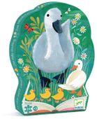 BRZYDKIE KACZĄTKO puzzle w kartoniku 24 el DJECO zdjęcie 1