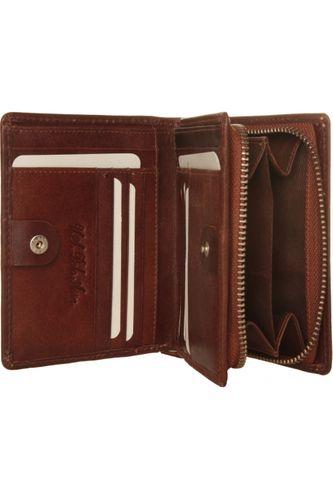 U.S. POLO   skórzany portfel damski   Model:  PC004PA501_TAN na Arena.pl