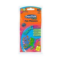 Dentek Kids Fun Flossers Wykałaczki Do Zębów Z Nitką Dla Dzieci 40Szt