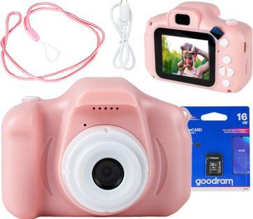 Aparat Cyfrowy Kamera Dla Dzieci + 16GB MICRO SD Z Adapterem U299Z