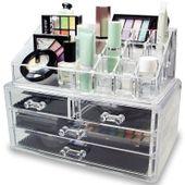 Organizer na kosmetyki z szufladkami zdjęcie 9