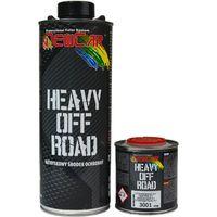 NewCar Heavy Off Road SUPER TWARDA powłoka nawierzchniowa  850gr. czarny plus utw. 3001 200ml.