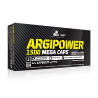 Olimp Argi Power 1500 Mega Caps 120 kapsułek + GRATIS!!!