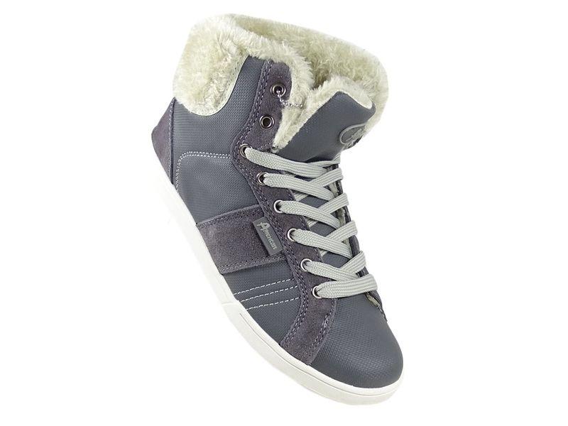 Sportowe damskie buty z kożuszkiem 39 na Arena.pl
