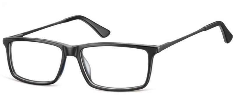 Korekcyjne oprawki okularowe damskie męskie granat zdjęcie 3