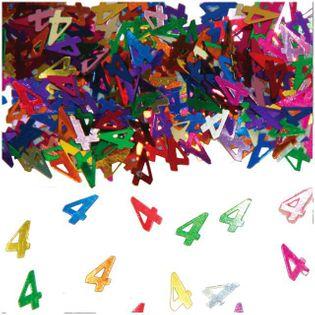 """Konfetti  """"4"""", kolorowe mix, FOLAT, 14g"""