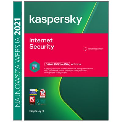 Kaspersky Internet Security multi-dev 3PC/2Lata Kontynuacja na Arena.pl
