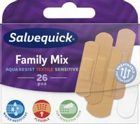 Family Mix zestaw plastrów opatrunkowych 26szt.