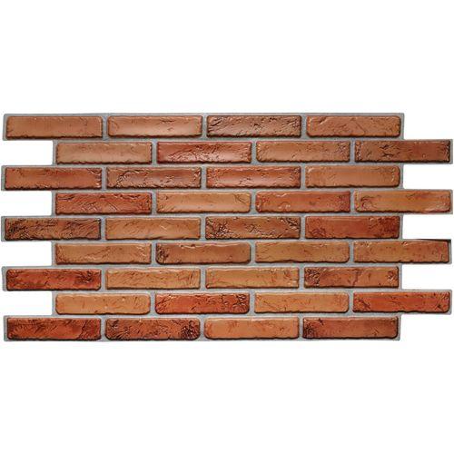 Panele Ścienne 3D PCV Cegła NATURALNA Brick NATURAL na Arena.pl