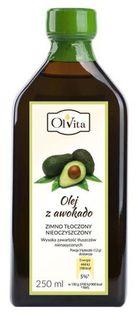 Olej z awokado zimnotłoczony Ol'Vita 250 ml