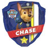 Balon foliowy Paw Patrol Psi Patrol odznaka CHASE