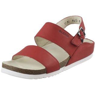 Sandały Płaskie Lesta 1224 Czerwone 37