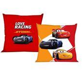 Poszewka 40x40 cm Cars Auta Love Racing