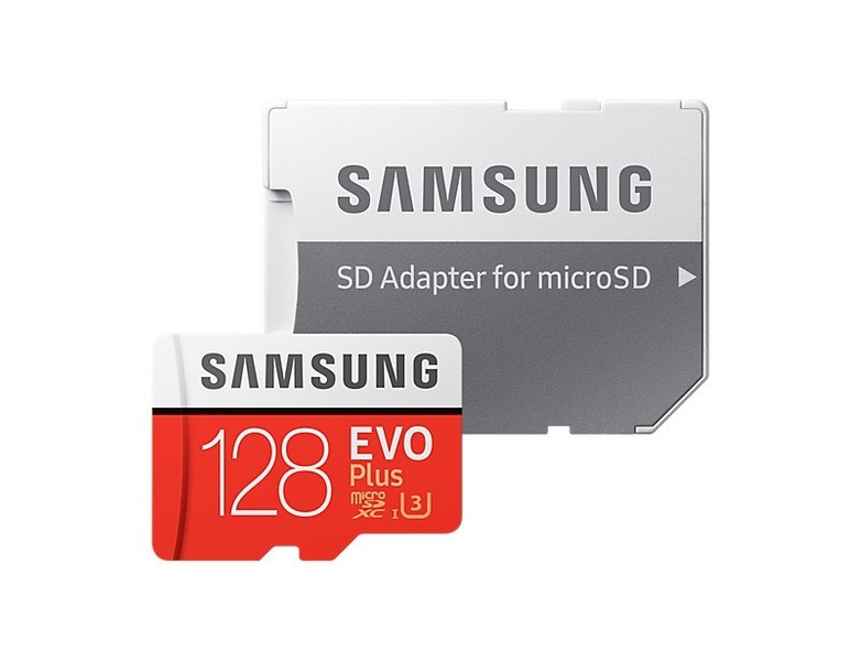 Karta pamięci SAMSUNG EVO PLUS 128GB microSD 100MB na Arena.pl
