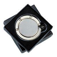 Składany wieszak na torebkę Glamour, srebrny R73535.01