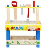 Drewniany Warsztat z narzędziami