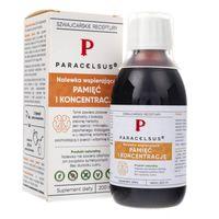 Paracelsus nalewka wspierająca pamięć i koncentrację - 200 ml