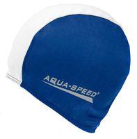 Czepek pływacki POLYESTER CAP Kolor - Czepki - Polyester Cap - 15 - granatowy / biały
