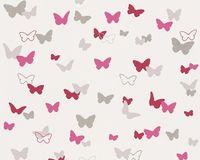 Tapeta dla dzieci ESPRIT KIDS różowe motylki motyle 30289-2