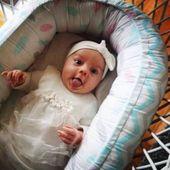 Dwustronny Kokon niemowlęcy Paprocie zdjęcie 8