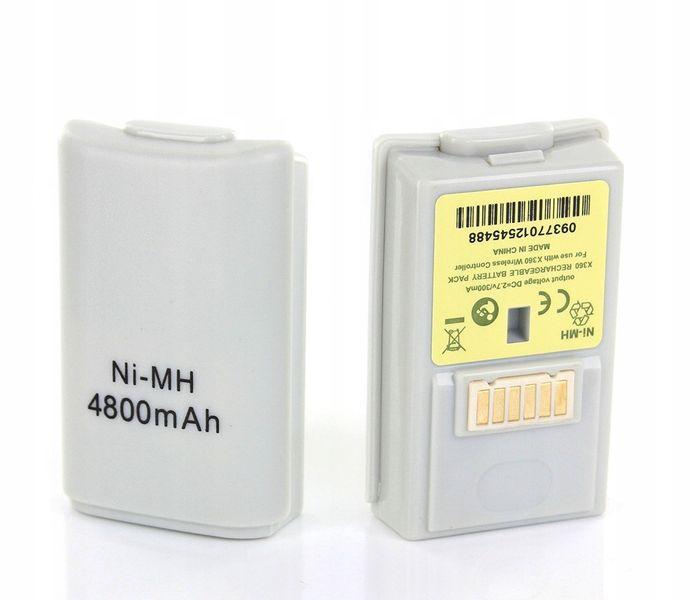 Bateria XBOX 360 do Pada Wymienna Mocna zdjęcie 2