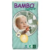Eko pieluszki BAMBO NATURE 3 MIDI 5-9kg 66szt