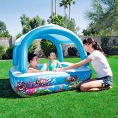 Basen dla dzieci z zadaszeniem Bestway 52192 147x146x122cm 265L