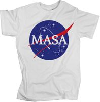 Koszulka T-shirt Męski Męska MASA na siłownię