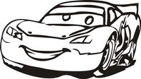 Naklejka dekoracyjna D 91, D91, samochód, auto, car Rozmiar - L, Kolor - Czerwony, Odbicie lustrzane - Tak