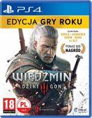 CD Projekt Wiedźmin 3: Dziki Gon - Edycja Gry Roku PS4
