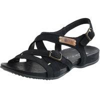 czarne Sandały Nessi 49804 damskie buty skóra R.36