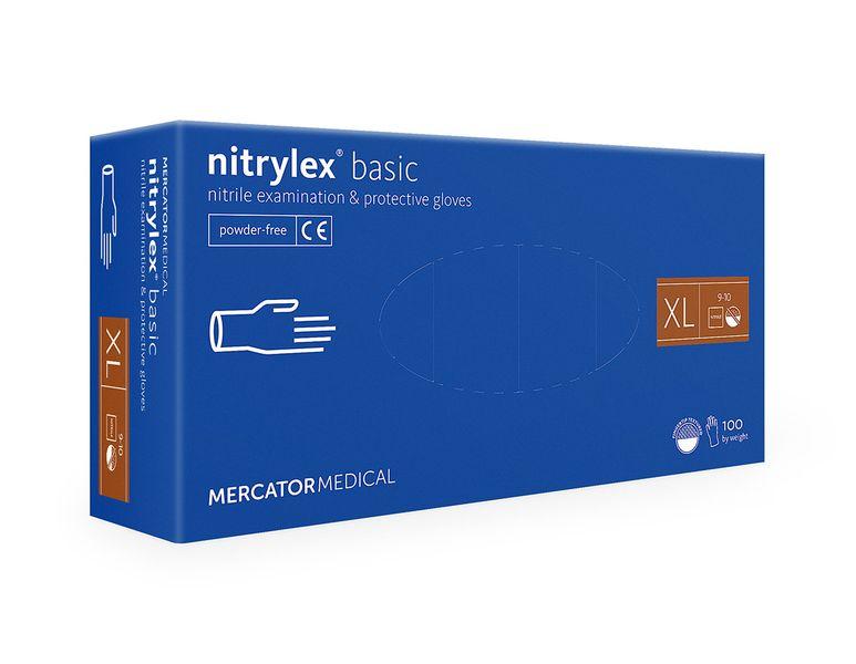 Rękawice nitrylowe nitrylex basic XL 100 szt na Arena.pl