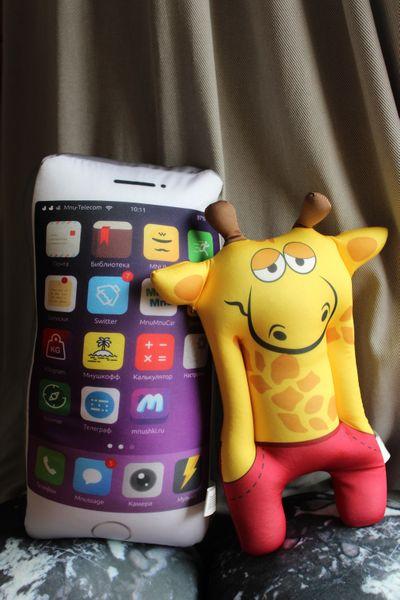 Relaksacyjna poduszka 3D na prezent - Żyrafa zdjęcie 7