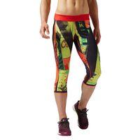 Spodnie 3/4 Reebok CrossFit Primed damskie dwustronne legginsy getry treningowe S