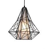 Lampa wisząca SKELETON HP1335-BL czarna Zuma Line zdjęcie 1