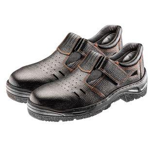 Sandały robocze S1 SRC, skórzane, rozmiar 38