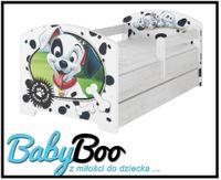 Łóżko dziecięce OSKAR BABY BOO 140x70 szuflada Disney cars, minnie itp