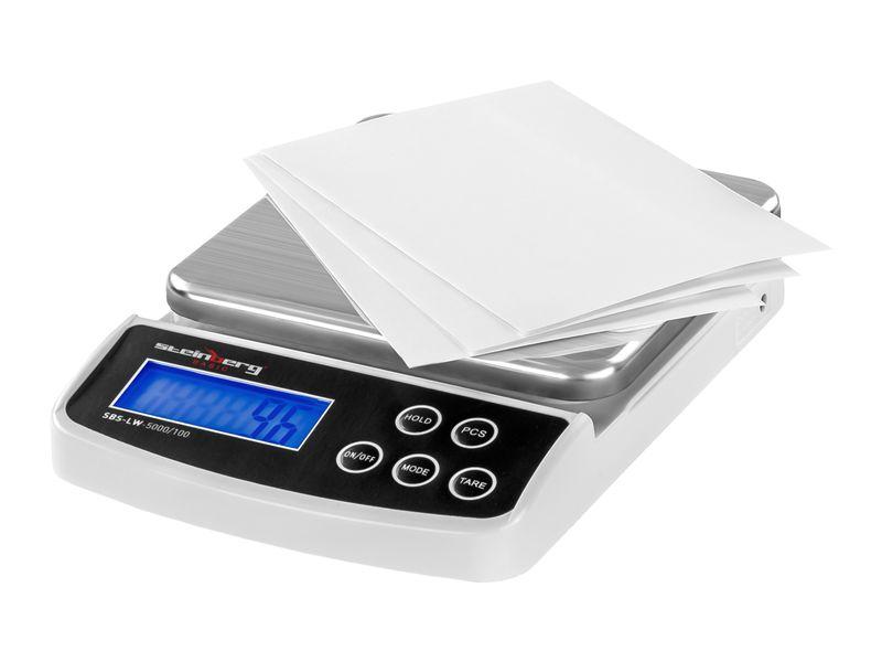 Waga pocztowa - 5 kg / 0,1 g - Steinberg Basic SBS-LW-5000/100 zdjęcie 1