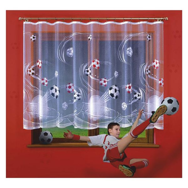 Firanka Futbol wysokość 170 cm - Pokój dziecięcy | WN622F 170 na Arena.pl