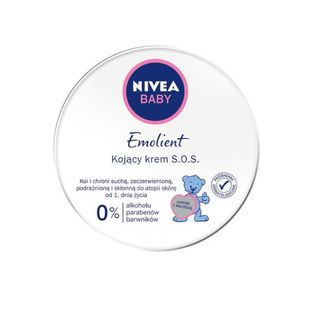 Nivea Baby - Emolient - Krem S.O.S. hipoalergiczny 150ml,